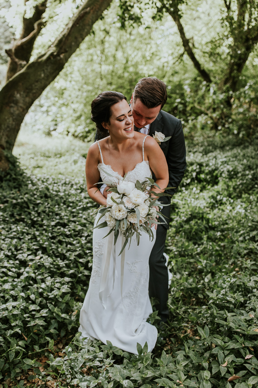 Lisa robertson in wedding dress - The Robertson Hotel Wedding Eva Brad 7